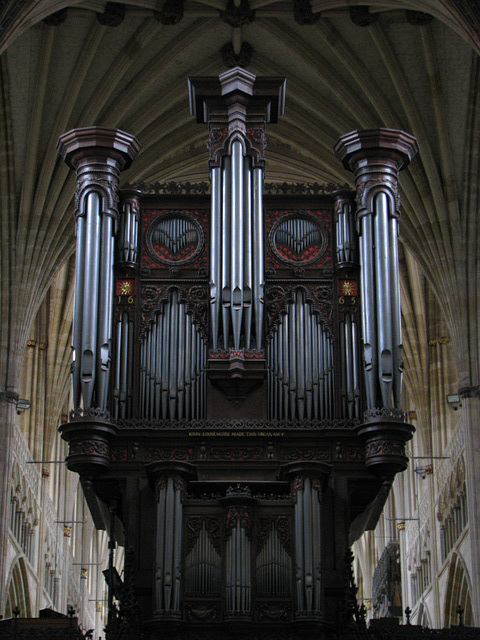 Exeter Cathedral Organ
