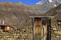 Enceinte de propriété...Népal