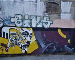 Street art, by Skran.