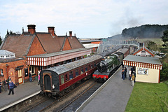 A busy day a Weybourne Station