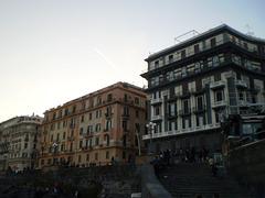 Waterside buildings.