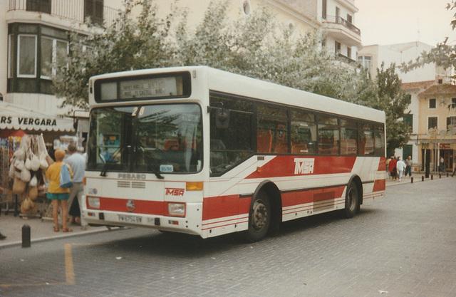 Transportes Menorca SA (TMSA) 28 (PM 6754 BW) - Oct 1996 337-10