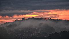 BELFORT: Levé du soleil.