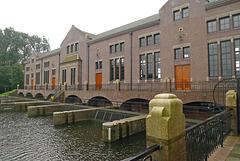 Nederland - Lemmer, Woudagemaal
