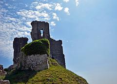 Corfe Castle, Dorset.