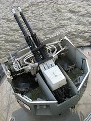 HMS Belfast Anti-Aircraft Gun