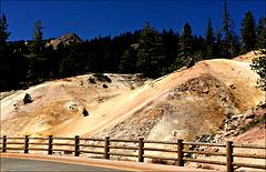 Sulphurous slope