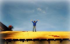 Je déconfine sur mon toit, c'est plus sûr! :o)) [ON EXPLORE]