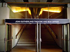 Sydney Opera House, basement entrance