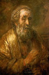 """Homère"" - Rembrandt (1663)"