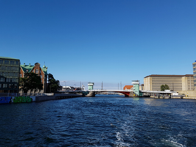 Blick zur Langebro - Brücke