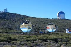 Roque-de-los-Muchachos-Observatorium. ©UdoSm