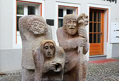 Figuren Narrenbrunnen