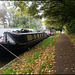 early autumn on the towpath