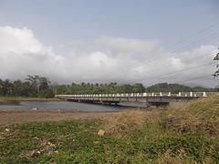 Wild bridge at Maria Chiquita beach area