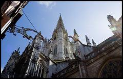 Rouen Cathedral 2; far, blues