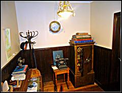 Oficina bancaria antigua.
