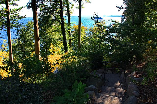 Wiligrad, Ufertreppe