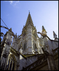 Rouen Cathedral 4; close