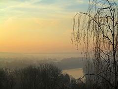 Am Morgen im Ruhrtal