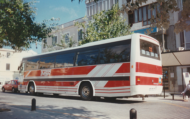 Transportes Menorca SA (TMSA) 22 (PM 9515 BL) - Oct 1996 337-08