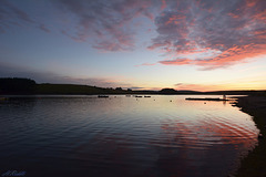Siblyback Lake Sunset