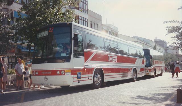 Transportes Menorca SA (TMSA) 22 (PM 9515 BL) - Oct 1996 337-09