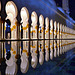 """""""Reflections in the water"""" : - Zayed mosque in Abu Dhabi - 7,5 v - 2° place"""