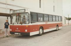 Transportes Menorca SA (TMSA) 21 (PM 5659 BJ) - Oct 1996 332-08