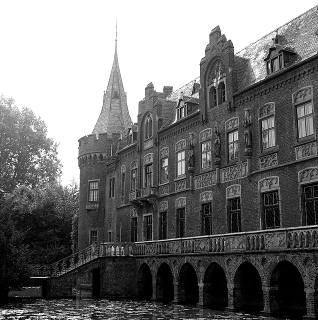 Schloss Paffendorf - misty morning