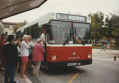 Transportes Menorca SA (TMSA) 21 (PM 5659 BJ) - Oct 1996 332-14
