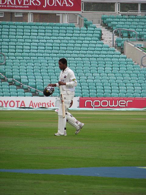 Chris Jordan at The Oval