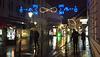 Regenwetter in Ljubljana