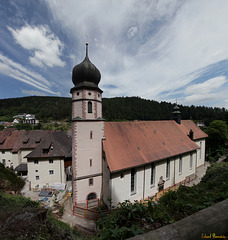 Wallfahrtskirche in Triberg