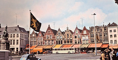 Bruges / Brugge (B) 7 mai 1977. (Diapositive numérisée).