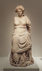 Marble Draped Female Statue on a Round Base from Pergamon in the Metropolitan Museum of Art, July 2016