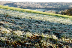 Frost Over The Limpley Stoke Valley