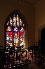War Memorial Window, St Peter's Church, Glebe Street, Stoke on Trent, Staffordshire