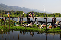 Scenery at Inle Lake