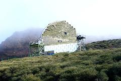 MAGIC-Teleskop (engl.: Major Atmospheric Gamma-Ray Imaging Cherenkov Telescope)  ©UdoSm