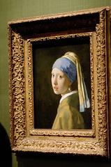 """La jeune fille à la perle"" (Johannes Vermeer - 1665)"