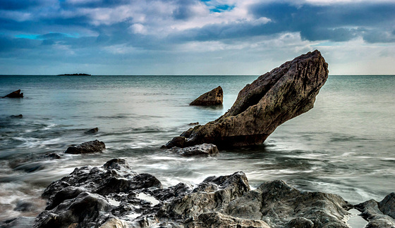 Rock steady - The gold coast, Waterford, Ireland.