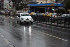 Rainy day in Turkey