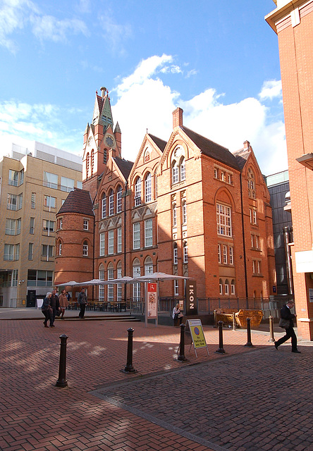 Former Board School, Brindley Place, Birmingham, West Midlands
