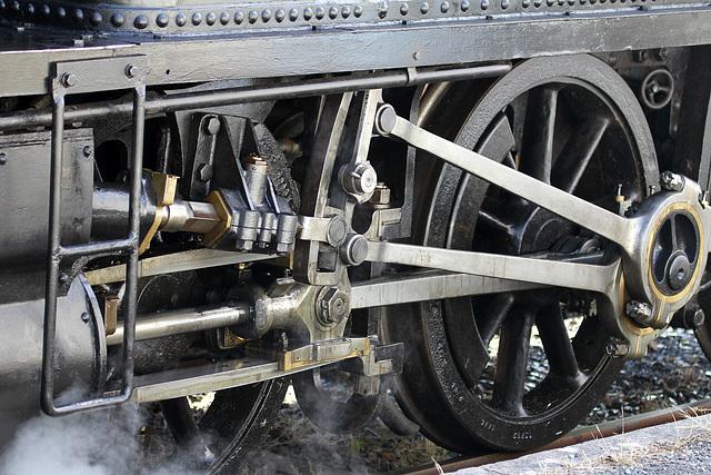 Train train à Mornac