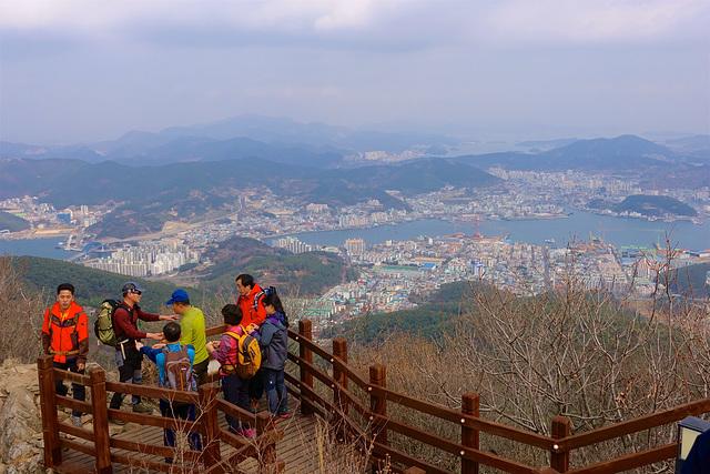 View from Tonyeong Ropeway - Mt. Mireuksan