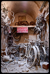 The old bicycle shop