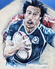 Rugby Sevens Mural, Glasgow