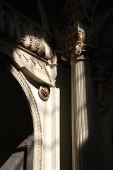 Lichtstrahlen in der Moschee