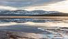Ice run on Lake Pallasjärvi